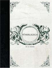 Cover of: Whirligigs