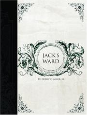 Cover of: Jack/s Ward (Large Print Edition) | Horatio Alger, Jr.