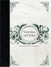 Vailima Letters (Large Print Edition)