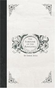 Cover of: The Fortune of the Rougons | Г‰mile Zola