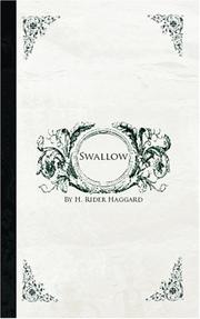 Cover of: Swallow | H. Rider Haggard
