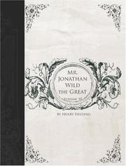 Cover of: The History of the Life of the Late Mr Jonathan Wild the Great, Volume 10