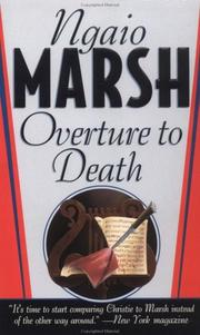 Cover of: Overture To Death (A Roderick Alleyn Mystery) | Ngaio Marsh