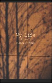 Cover of: My Life, Volume 1