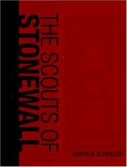 Cover of: The Scouts of Stonewall (Large Print Edition) | Joseph A. Altsheler