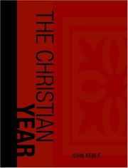 Cover of: The Christian Year (Large Print Edition) | John Keble