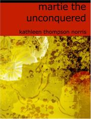 Cover of: Martie, the Unconquered