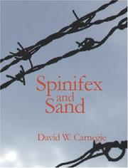 Cover of: Spinifex and Sand