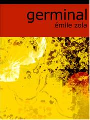 Cover of: Germinal (Large Print Edition) | Г‰mile Zola