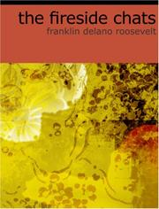 Cover of: The Fireside Chats of Franklin Delano Roosevelt