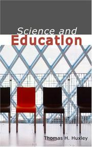 Cover of: Science & education