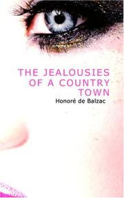 Cover of: The Jealousies of a Country Town
