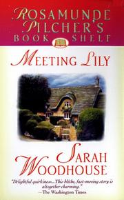 Cover of: Meeting Lily (Rosamunde Pilcher's Bookshelf)