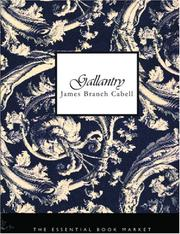 Cover of: Gallantry