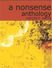 Cover of: A Nonsense Anthology (Large Print Edition) | Carolyn Wells