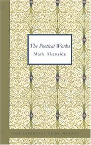 Cover of: Poetical Works of Akenside