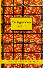 Cover of: The Reign of Greed