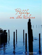 Cover of: Pebbles on the shore