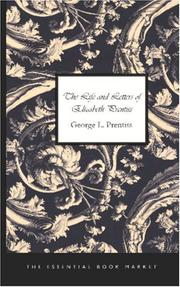 Cover of: The Life and Letters of Elizabeth Prentiss