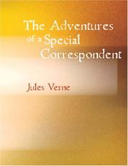 Cover of: The Adventures of a Special Correspondent