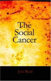 Cover of: The Social Cancer