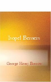 Cover of: Isopel Berners
