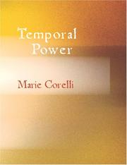 Cover of: Temporal Power