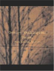 Cover of: George Washington: Farmer