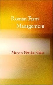 Cover of: Roman Farm Management