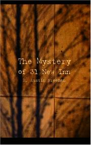 Cover of: The Mystery of 31 New Inn