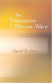 Cover of: The Damnation of Theron Ware