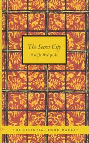Cover of: The Secret City