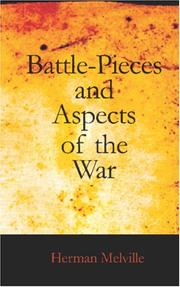Cover of: Battle-Pieces and Aspects of the War by Herman Melville