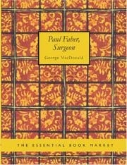Cover of: Paul Faber, Surgeon (Large Print Edition) | George MacDonald