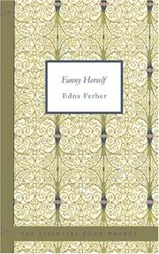 Cover of: Fanny Herself | Edna Ferber