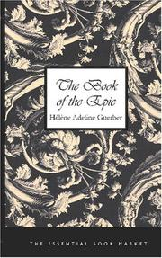 Cover of: The Book of the Epic