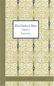 Cover of: The Children\'s Hour Volume 3