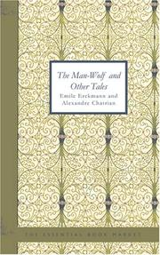 Cover of: The Man-Wolf and Other Tales