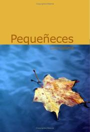 Cover of: Pequeneces
