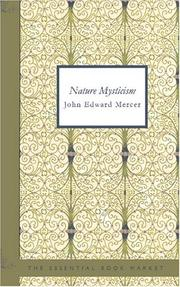Cover of: Nature Mysticism
