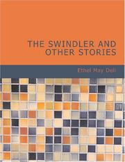 Cover of: The Swindler and Other Stories (Large Print Edition) | Ethel M. Dell