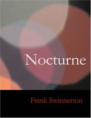 Cover of: Nocturne (Large Print Edition) | Frank Swinnerton