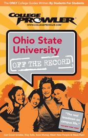 Cover of: Ohio State University 2007 (College Prowler) | Roland Becerra