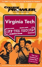 Cover of: Virginia Tech 2007 | College Prowler