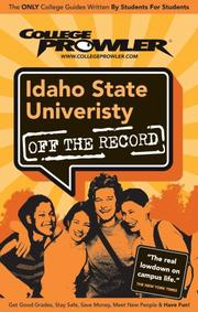 Cover of: Idaho State University | Eryn Lowe