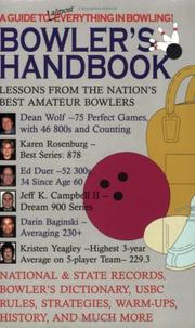 Cover of: Bowler's Handbook