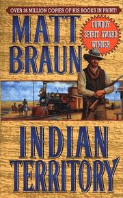 Cover of: Indian Territory