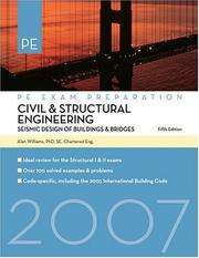 Cover of: Civil & Structural Engineering | Alan Williams