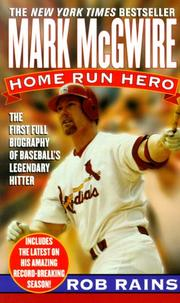 Cover of: Mark McGwire | Rob Rains