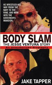 Cover of: Body slam : the Jesse Ventura story